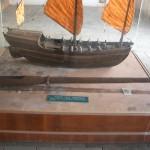 軍船模型と子母砲