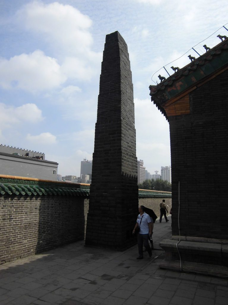 清寧宮裏の煙突(2012年8月撮影)