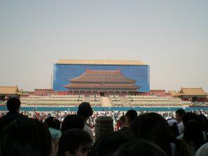 修理中の太和殿(2006年5月)