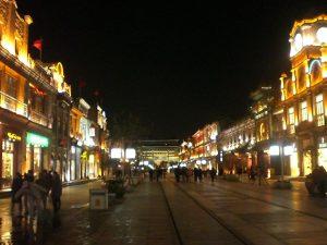 前門大街(正陽門方向、北向き)