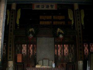 文溯閣一階(2004年8月撮影)