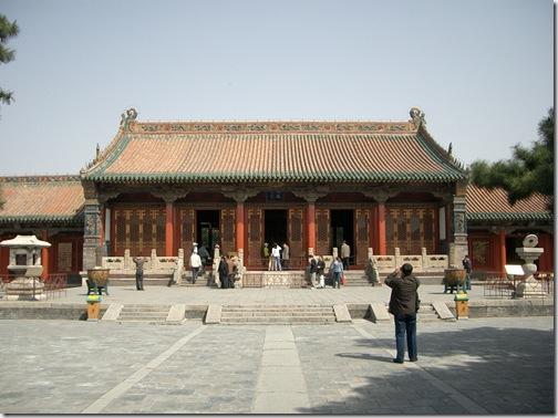 崇政殿(2004年4月撮影)