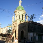 カシュガル旧市街にて(2005年8月撮影)