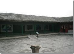 戯台周囲の回廊(東側)
