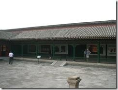 戯台周囲の回廊(西側)