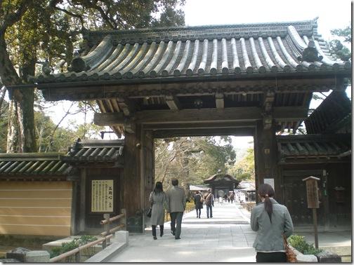 金閣寺山門