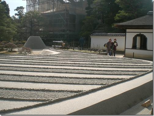 銀閣寺石庭