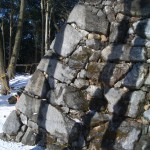 旧天守台 穴太積と算木積