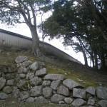 萩城二の丸塀