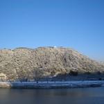 岩国城(城下からの眺め)